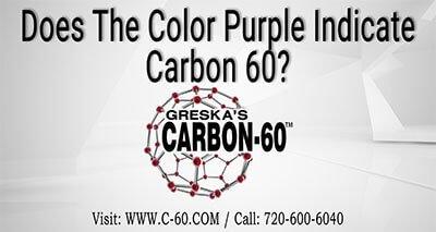 Color Purple is not Carbon 60